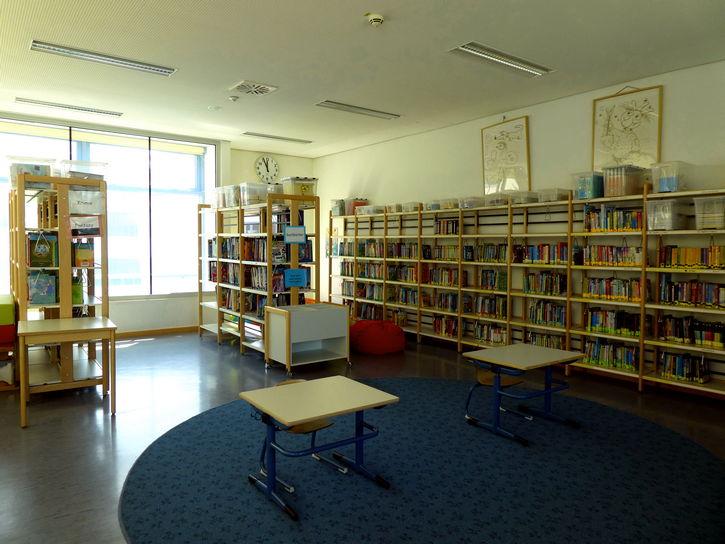 Bücherei von innen