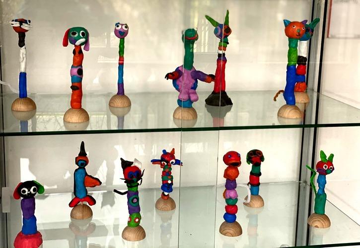 Knetmännchen Galerie