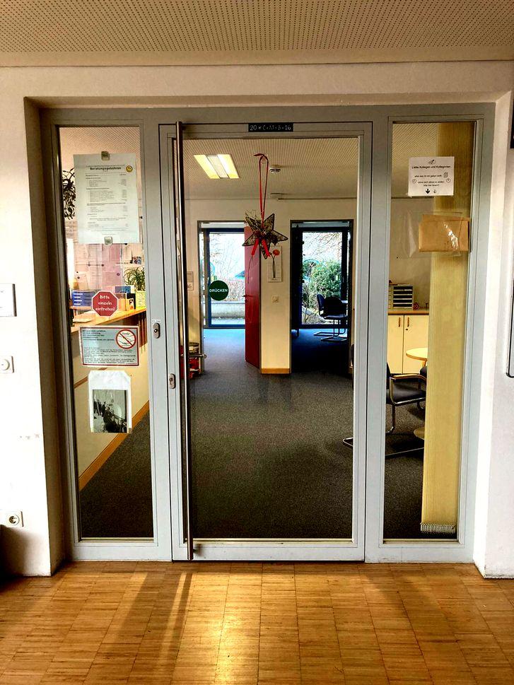 Sekretariat Eingang